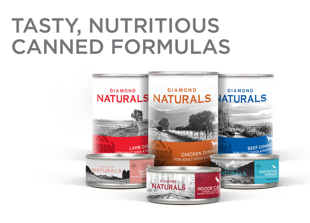 Diamond Naturals canned formulas