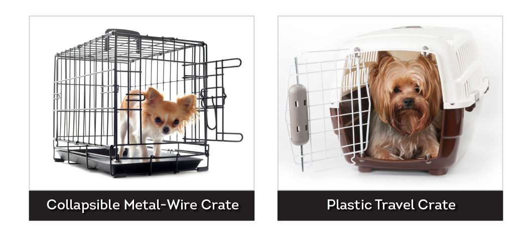 Dog Crate Types for crate training