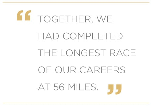 Longest Race of Our Careers Quote | Diamond Pet Foods