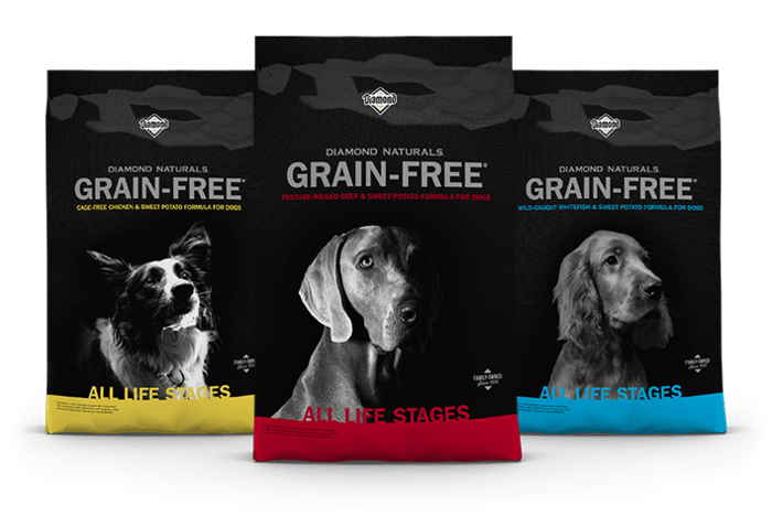 Diamond Naturals Grain-Free Family of Products for Dogs | Diamond Pet Foods