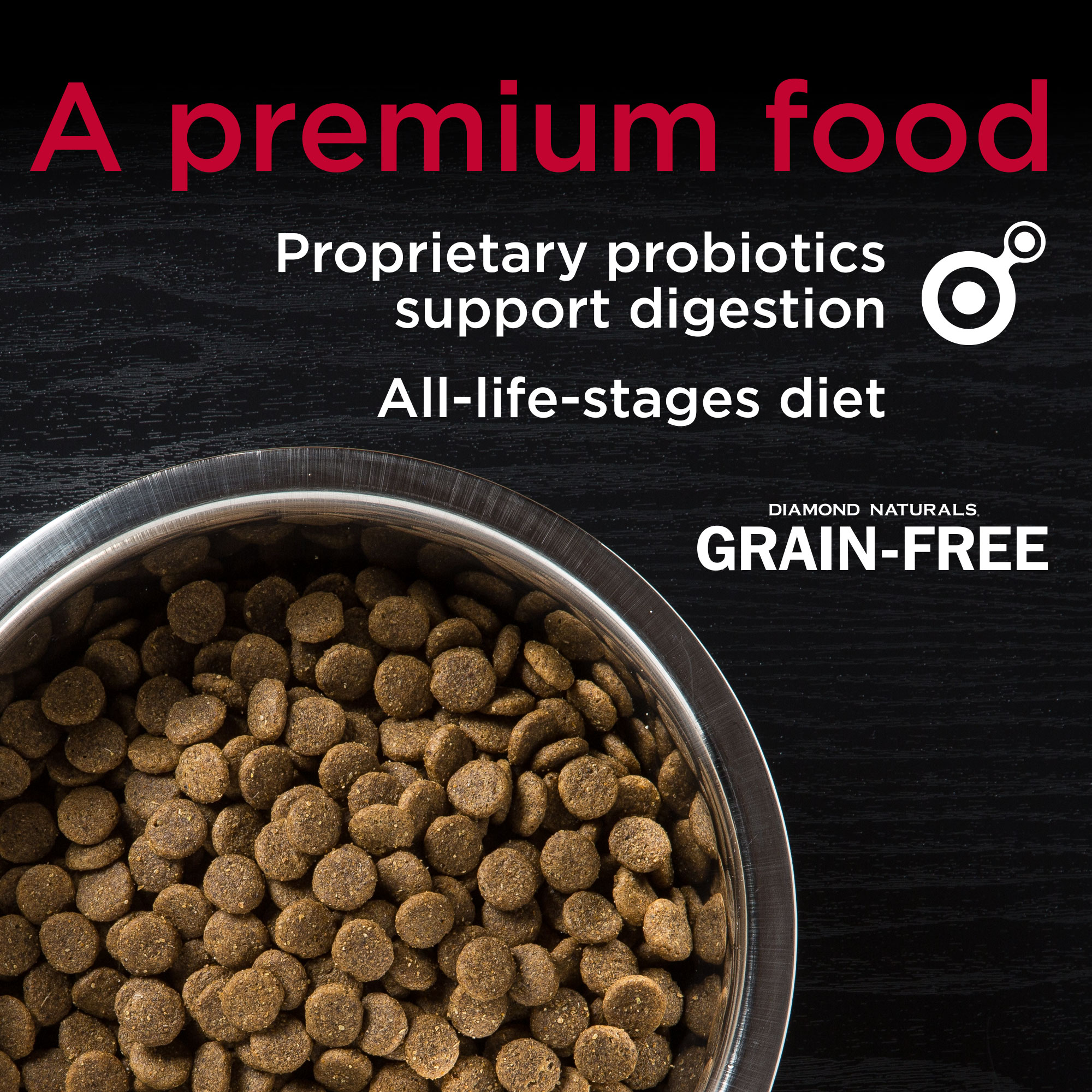 Diamond Naturals Grain-Free a premium food