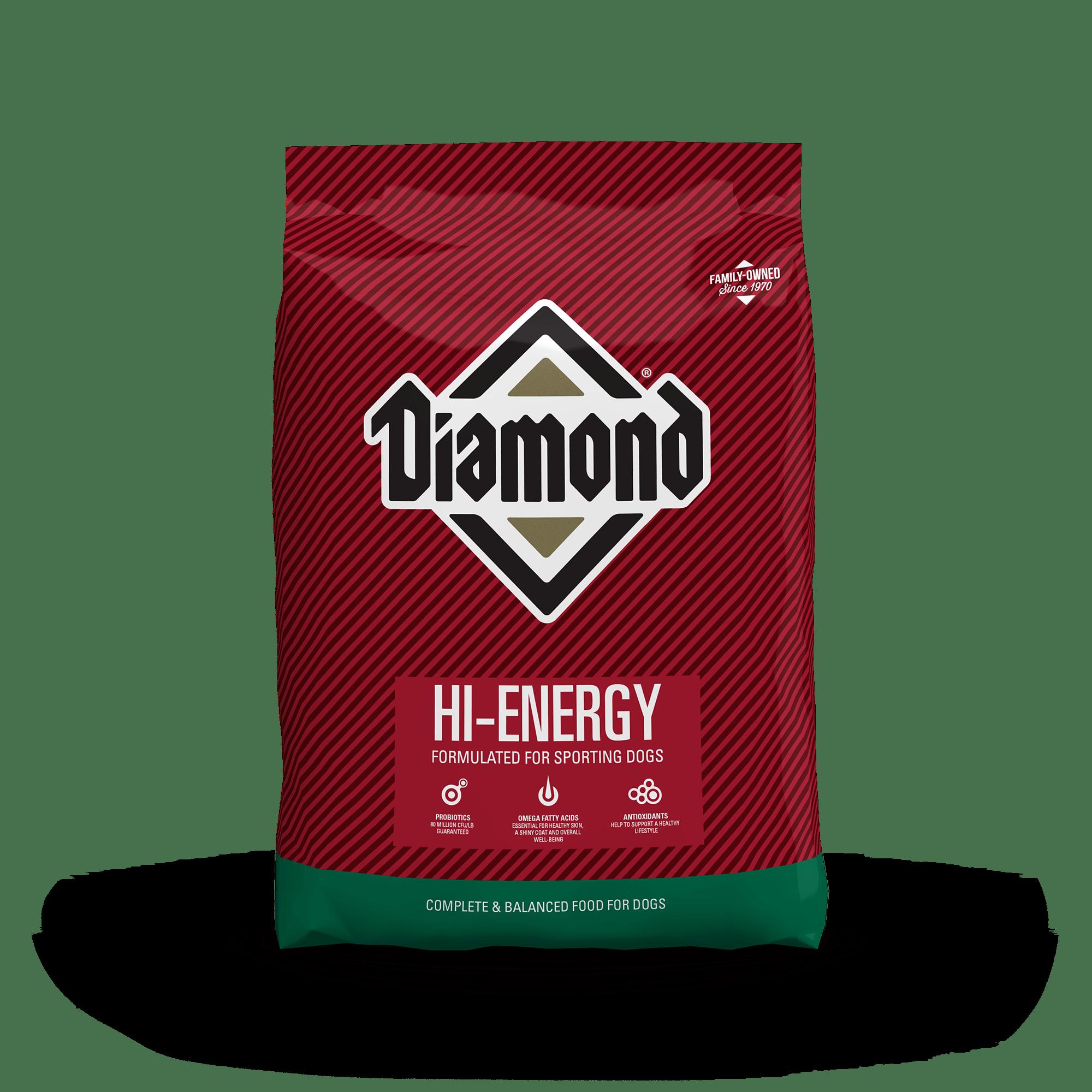 Hi-Energy product packaging
