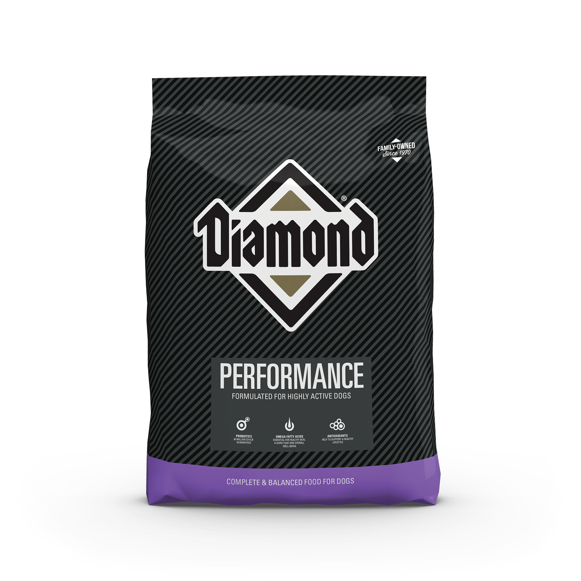 performance front of bag | Diamond