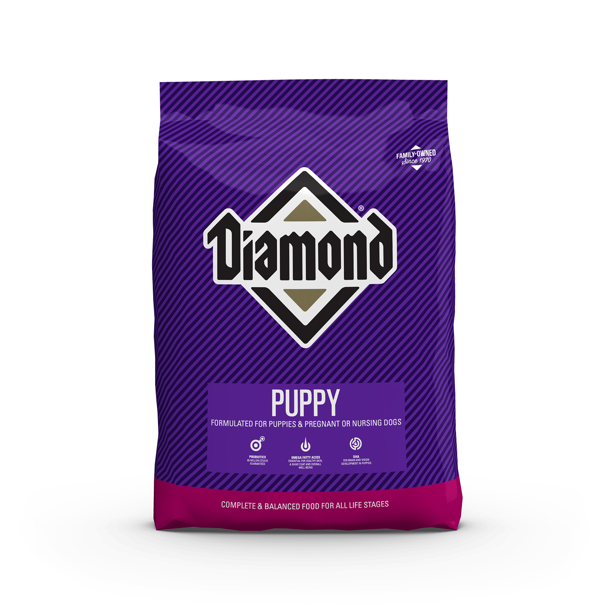 puppy front of bag | Diamond