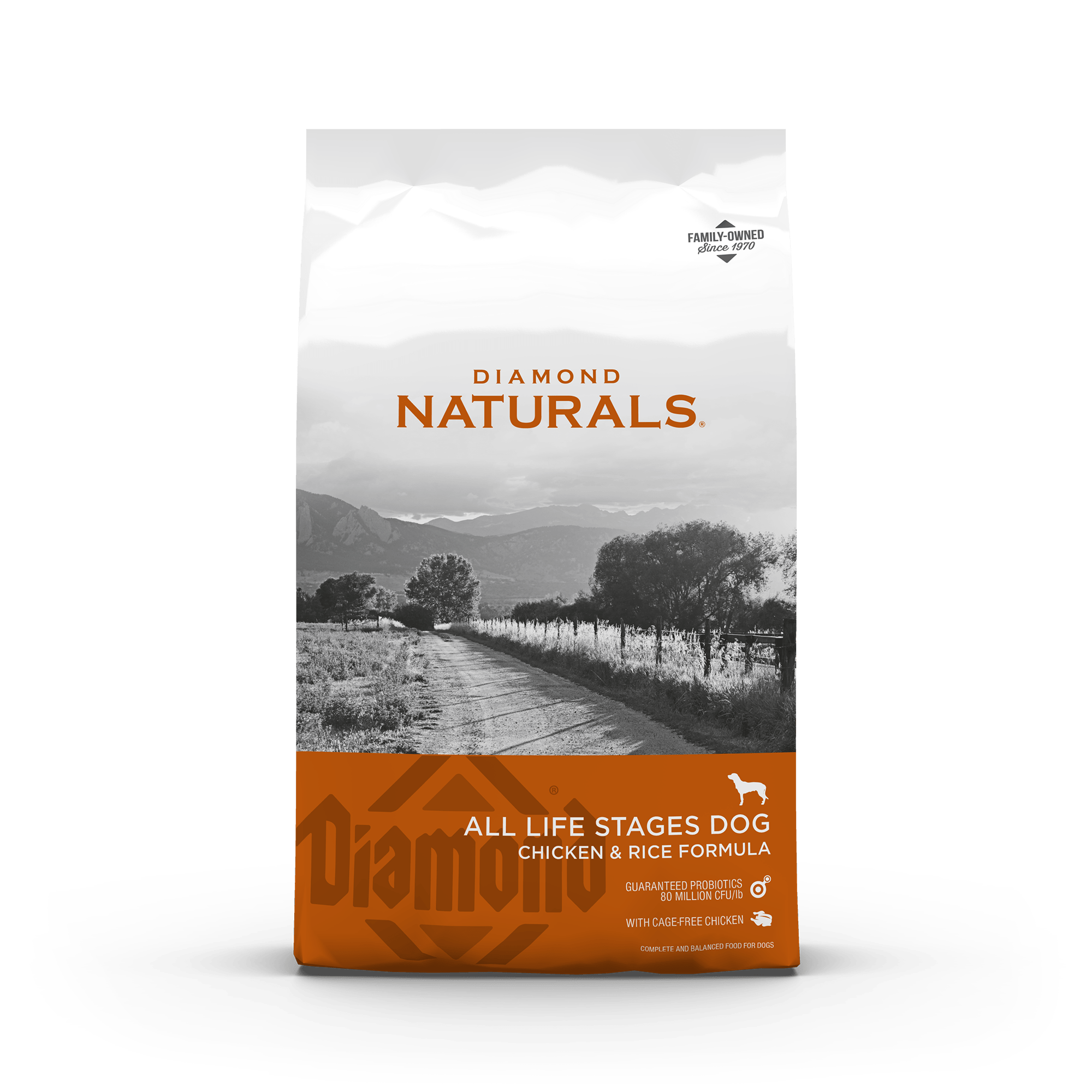 Diamond Naturals All Life Stages Dog Chicken & Rice   Diamond Pet Foods