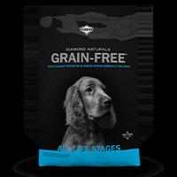 Diamond Naturals Grain-Free Wild-Caught Whitefish & Sweet Potato Formula for Dogs Bag Front | Diamond Pet Foods