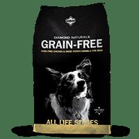 Diamond Naturals Grain-Free Cage-Free Chicken bag thumbnail