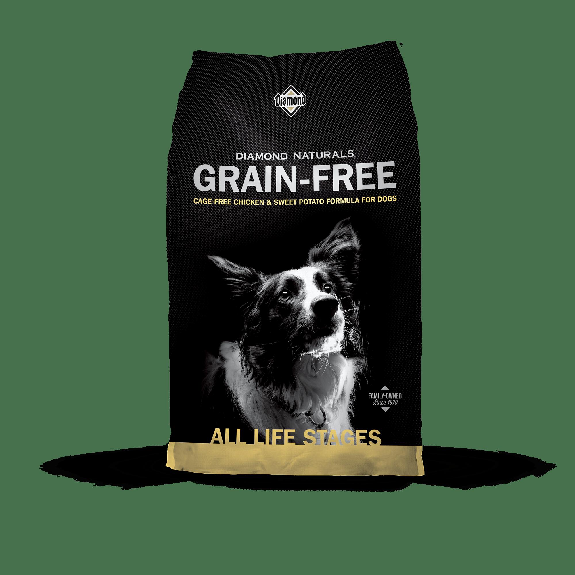 Diamond Naturals Grain-Free Cage-Free Chicken bag