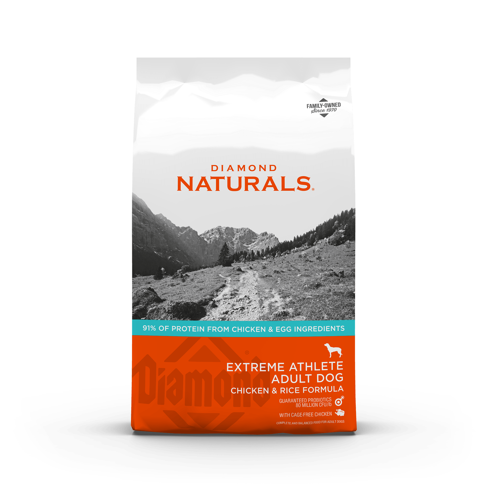 extreme athlete front of bag | Diamond Naturals