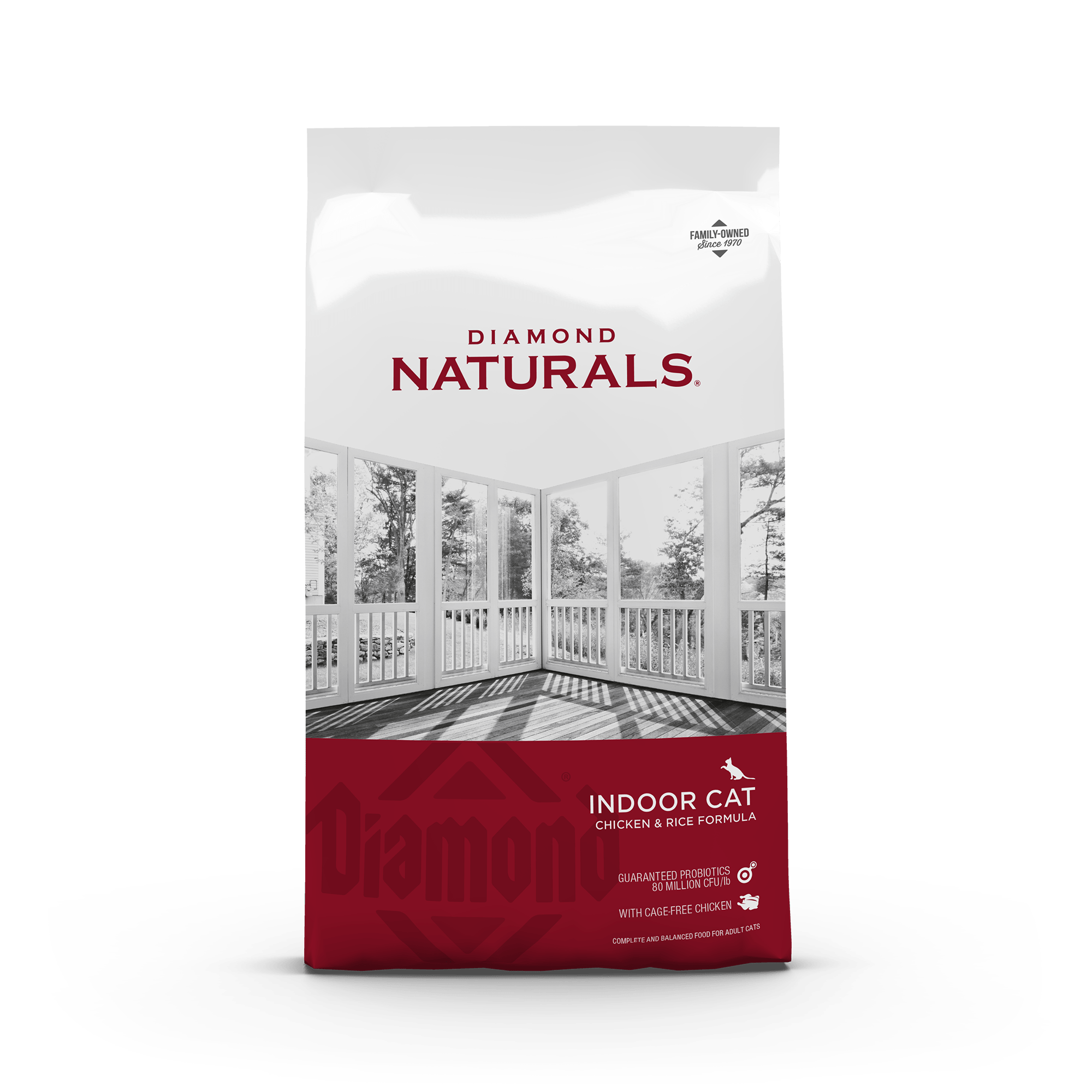 Diamond Naturals Indoor Cat Chicken & Rice Formula | Diamond Pet Foods