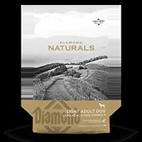 Diamond Naturals Light Adult Dog Lamb Meal & Rice front of bag | Diamond Pet Foods