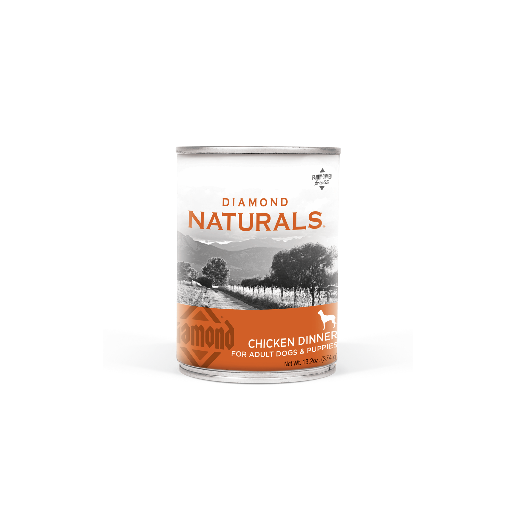 Chicken Dinner front of can | Diamond Naturals