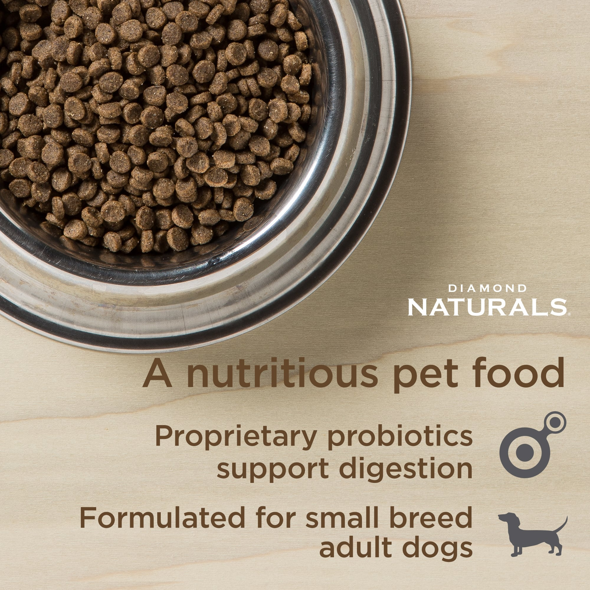 Diamond Natural small breed chicken and rice kibble | Diamond Pet Foods