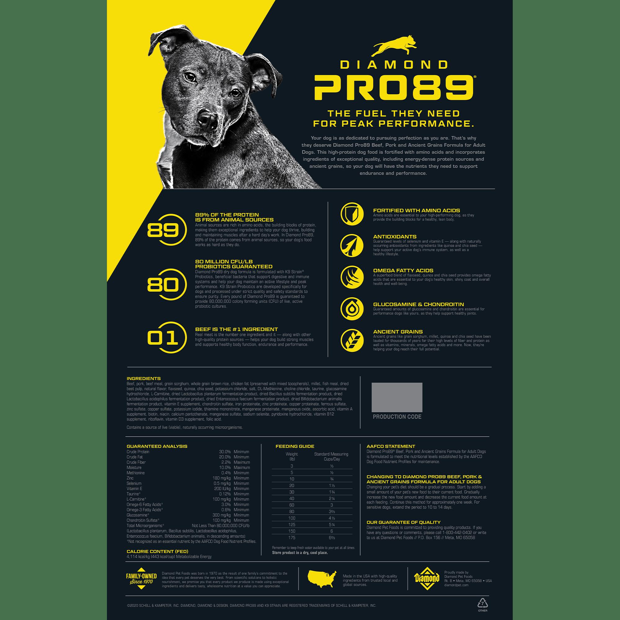 Diamond Pro89 bag back