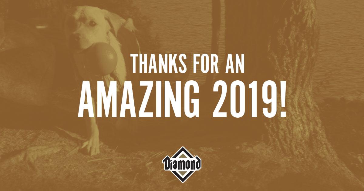 Thanks for an Amazing 2019 Contest Banner | Diamond Pet Foods