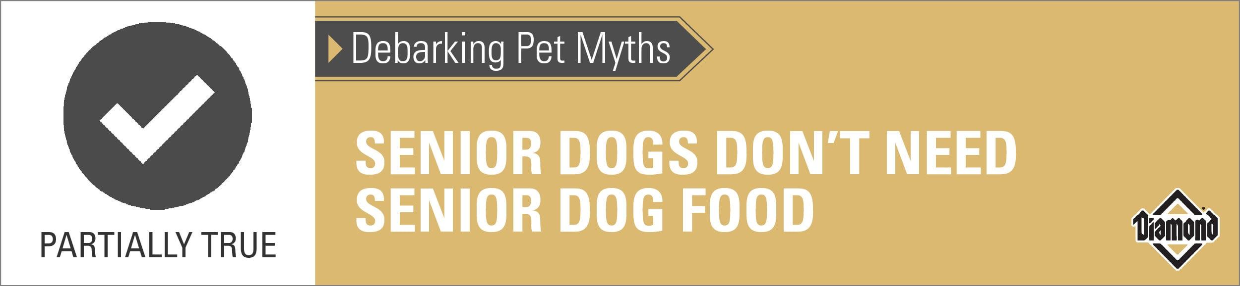 Senior Dogs May Not Need a Senior Diet   Diamond Pet Foods