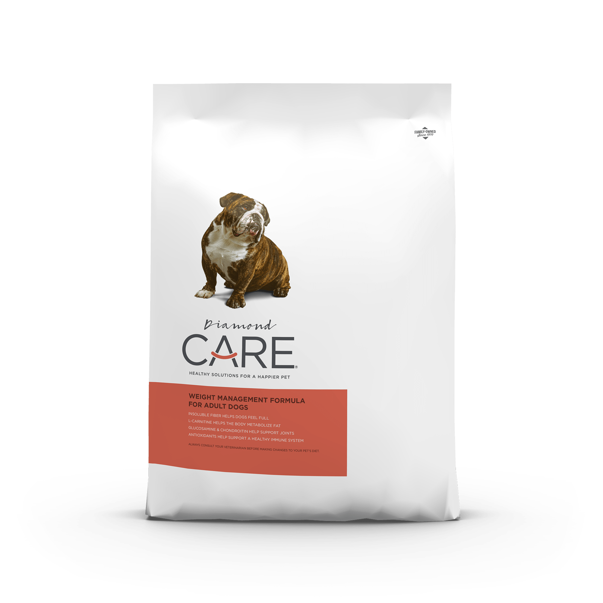 weight management front of bag | Diamond CARE
