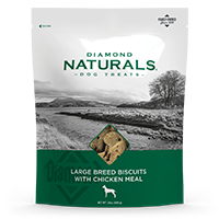 Large Breed Dog Biscuits with Chicken Meal | Diamond Naturals