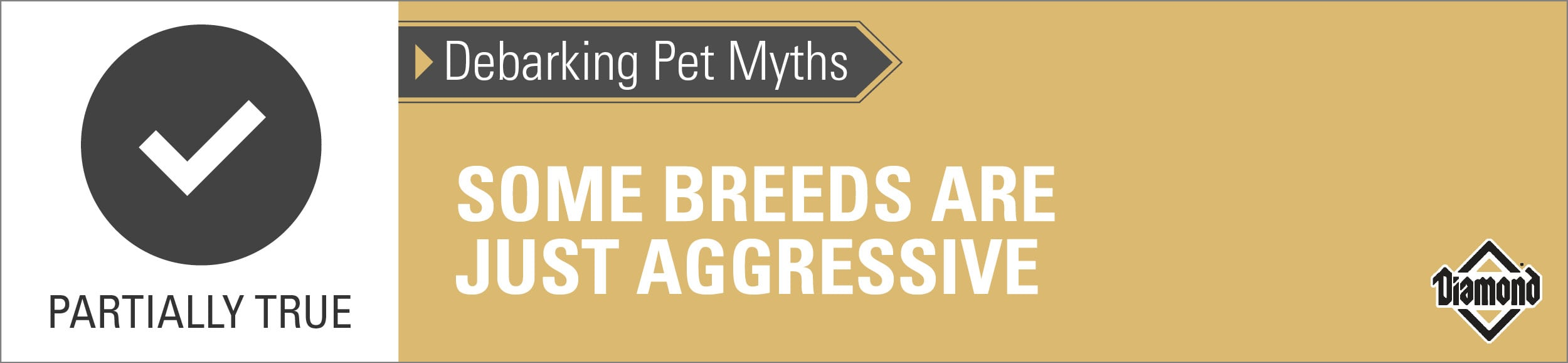 A Graphic Saying Some Breeds Are Just Aggressive | Diamond Pet Foods